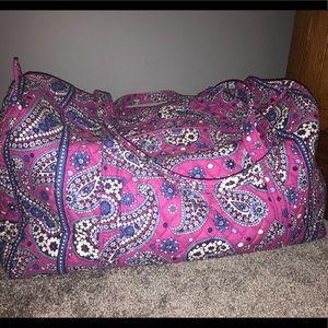 Vera Bradley duffel /weekend bag